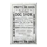La exposición canina de Cruft de la publicidad de  Impresión En Lona