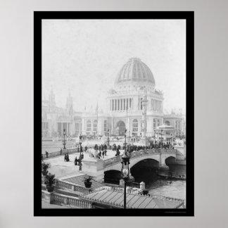 La exposición colombina del mundo en Chicago 1893 Impresiones