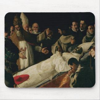 La exposición del cuerpo de St Bonaventure Alfombrillas De Ratón