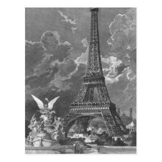La exposición del universal de la torre Eiffel Tarjetas Postales