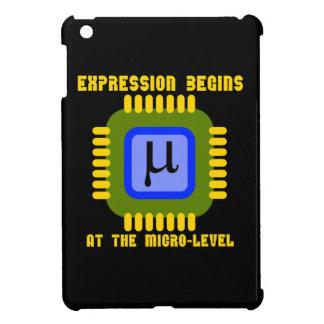 La expresión comienza en el microproceso llano
