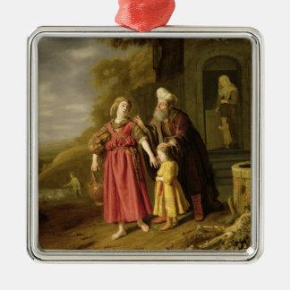 La expulsión de Hagar y de Ishmael, c.1644 Ornamentos Para Reyes Magos