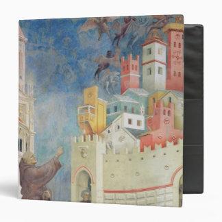 """La expulsión de los diablos de Arezzo, 1297-99 Carpeta 1 1/2"""""""