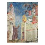 La expulsión de los diablos de Arezzo, 1297-99 Postal