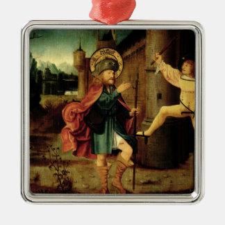 La expulsión del santo Roch de Roma Ornamentos De Navidad