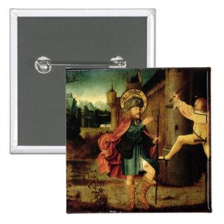 La expulsión del santo Roch de Roma Pin