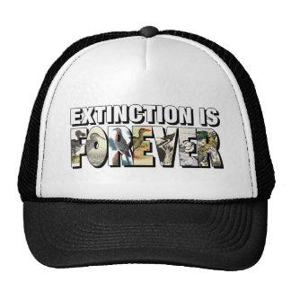 La extinción es Forever Gorro