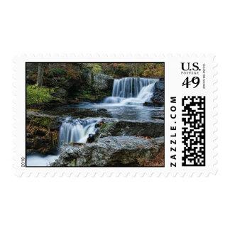 La fábrica cae franqueo sello postal