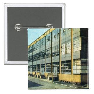 La fábrica de zapato del Fagus, diseñada por Walte Pin Cuadrada 5 Cm