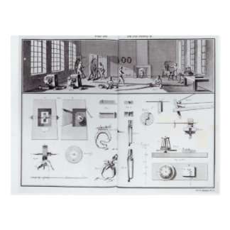 La fábrica del Pin, platea 2 del volumen IV Postal