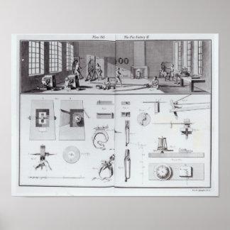 La fábrica del Pin, platea 2 del volumen IV Póster