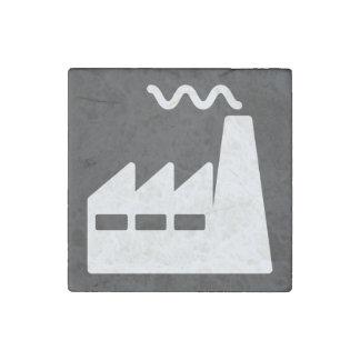 La fábrica necesita mínimo imán de piedra