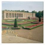 La fachada del jardín del Trianon magnífico, 1687  Azulejo Cuadrado Grande