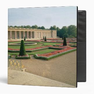 La fachada del jardín del Trianon magnífico 1687