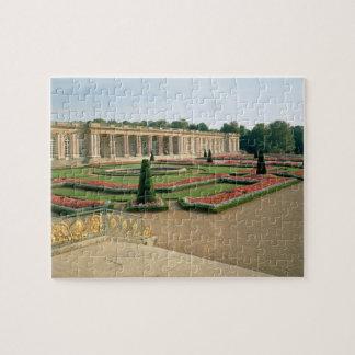 La fachada del jardín del Trianon magnífico, 1687  Rompecabeza Con Fotos