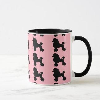 la falda rosada del caniche de los años 50 inspiró taza