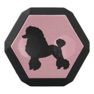 La falda rosada del caniche inspiró al locutor de altavoces bluetooth negros boombot REX