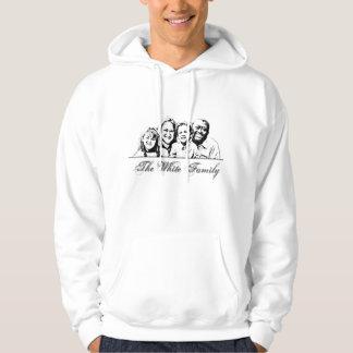 La familia blanca de camisetas