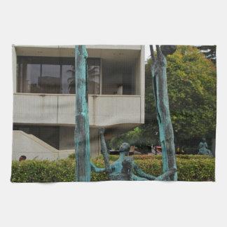 La Familia by Eduardo Oropeza I Hand Towel