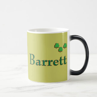 La familia de Barrett Morph la taza