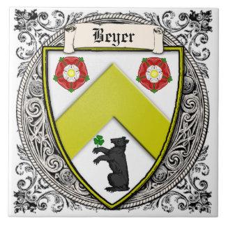 La familia de Beyer (Suiza/Sajonia) arma Teja