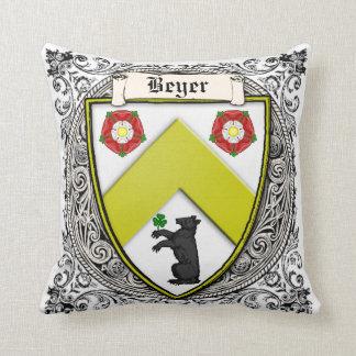La familia de Beyer (Suiza/Sajonia) arma Cojín Decorativo