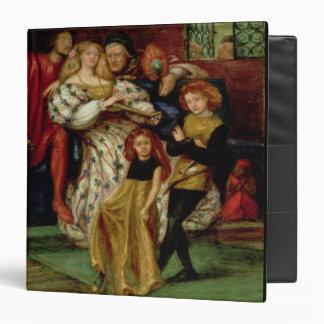 """La familia de Borgia, 1863 Carpeta 1 1/2"""""""