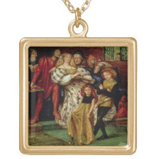 La familia de Borgia, 1863 Colgante Cuadrado
