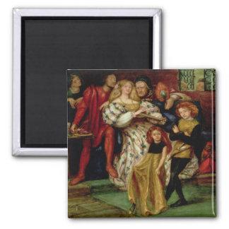La familia de Borgia, 1863 Imán Cuadrado
