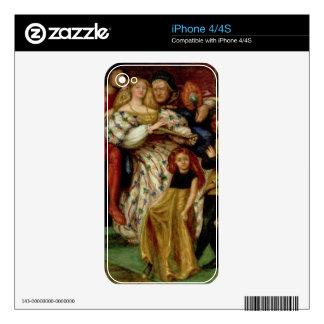 La familia de Borgia, 1863 iPhone 4S Calcomanías