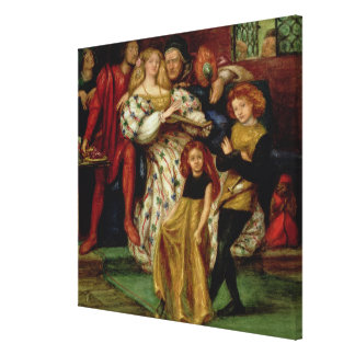 La familia de Borgia, 1863 Lienzo Envuelto Para Galerias
