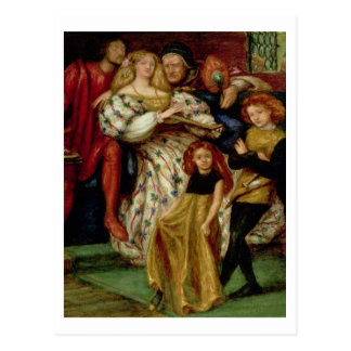 La familia de Borgia, 1863 Postales