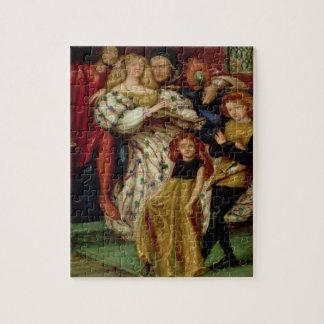 La familia de Borgia, 1863 Rompecabezas Con Fotos