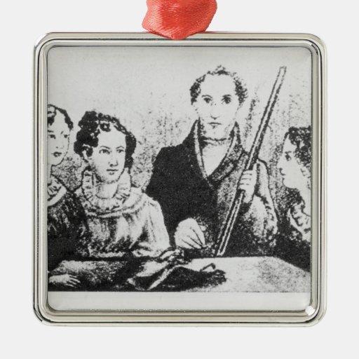 La familia de Bronte Ornamento Para Arbol De Navidad