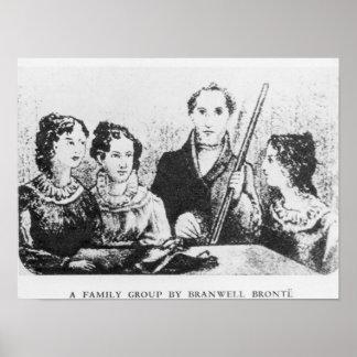 La familia de Bronte Póster