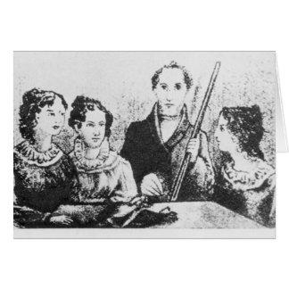 La familia de Bronte Tarjeta De Felicitación
