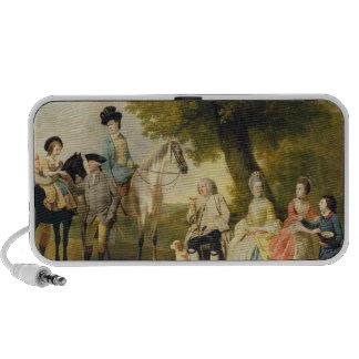 La familia de Drummond, c.1769 (aceite en lona) Altavoces