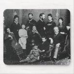 La familia de Freud, c.1876 Alfombrilla De Raton