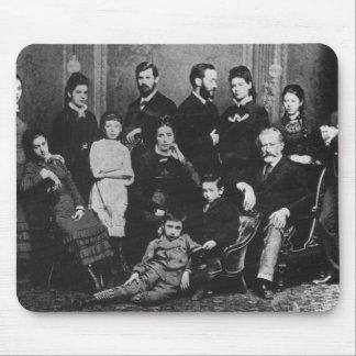 La familia de Freud, c.1876 Mousepads