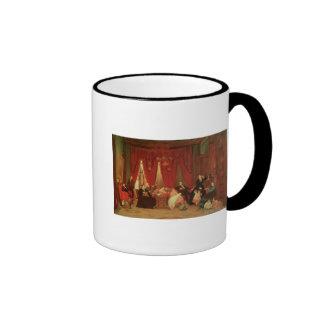 La familia de la portilla, 1870-71 taza