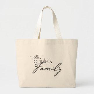 La familia de las novias bolsas