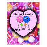 La familia de Lolli Tarjetas Postales