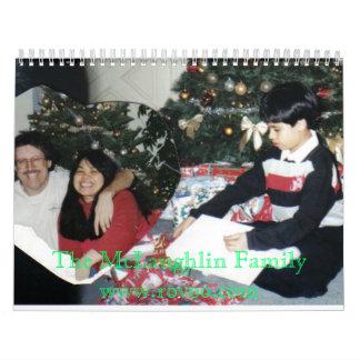 La familia de McLaughlin, McLaughlin Familywww… Calendarios De Pared