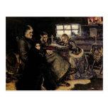 La familia de Menshikov en Beriozovo, 1883 Tarjeta Postal