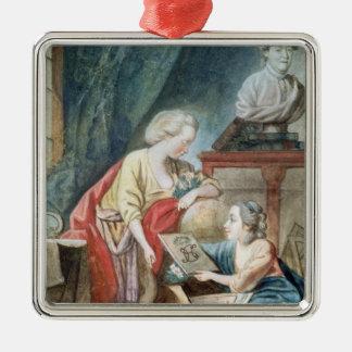 La familia de Necker en 1780 Adornos De Navidad