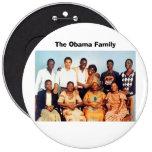 La familia de Obama Pin
