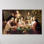 La familia de Peale, por Charles Willson Peale Póster