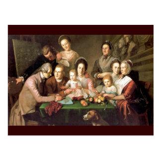 La familia de Peale, por Charles Willson Peale Tarjetas Postales