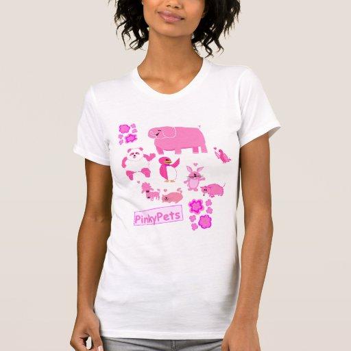 La familia de PinkyPets Camisetas