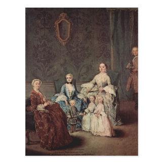 La familia de Sagredo de Pietro Longhi Tarjetas Postales